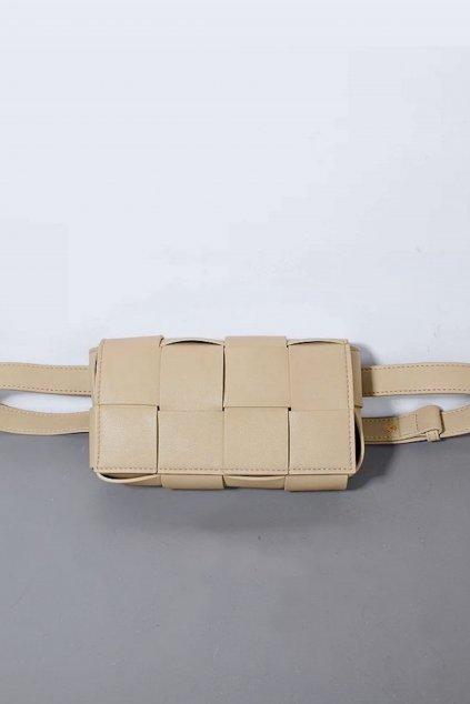 Kožená dámská kabelka belt bag