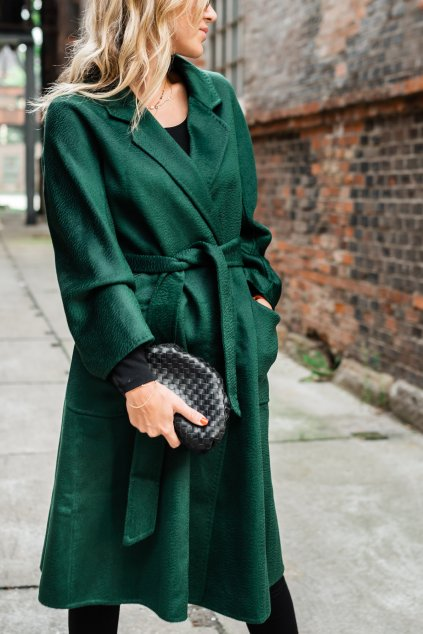 Kašmírový kabát - EMERALD
