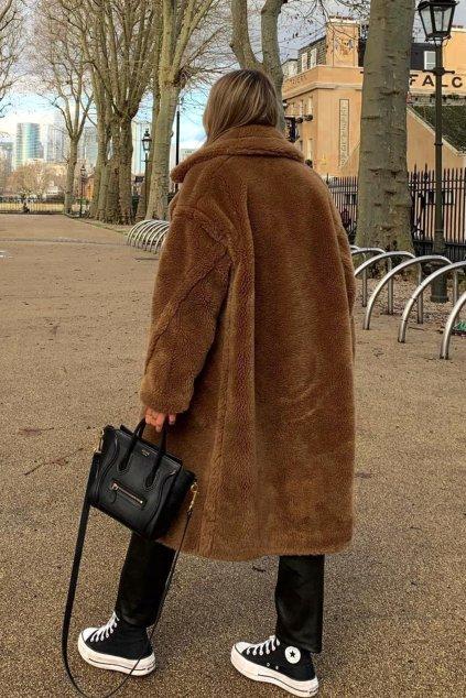 Teddy kabát - BROWN