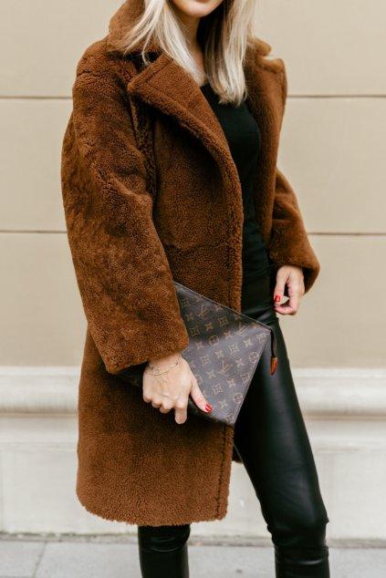 Teddy Bear kabát - BROWN