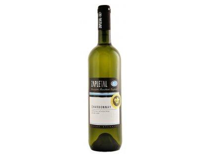 Chardonnay pozdní sběr 2017 Zapletal