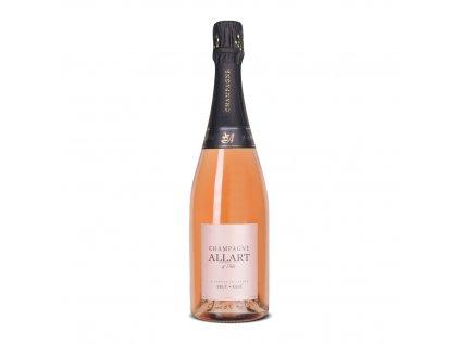 Champagne Rosé brut Allart 075l