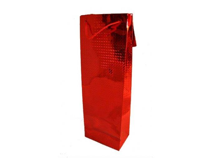taška červená hologram