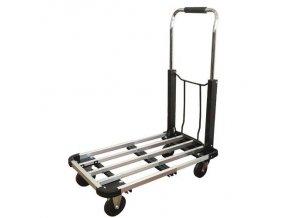 Hliníkové a nerezové přepravní vozíky