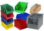 Plastové a kovové boxy a krabičky na drobný materiál
