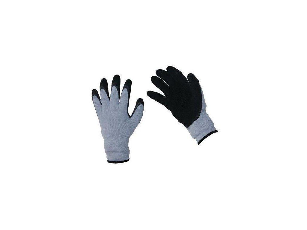 Nylonové rukavice Manutan polomáčené v latexu 7ce1bf5856