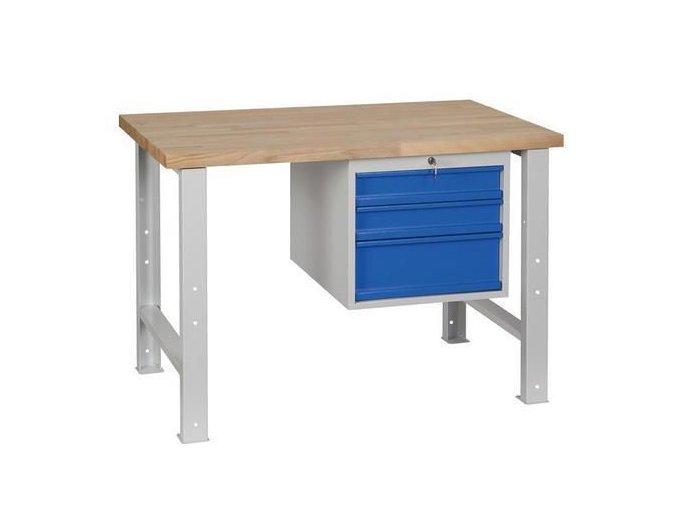 Dílenské stoly Weld, 84 x 120 x 68,5 cm