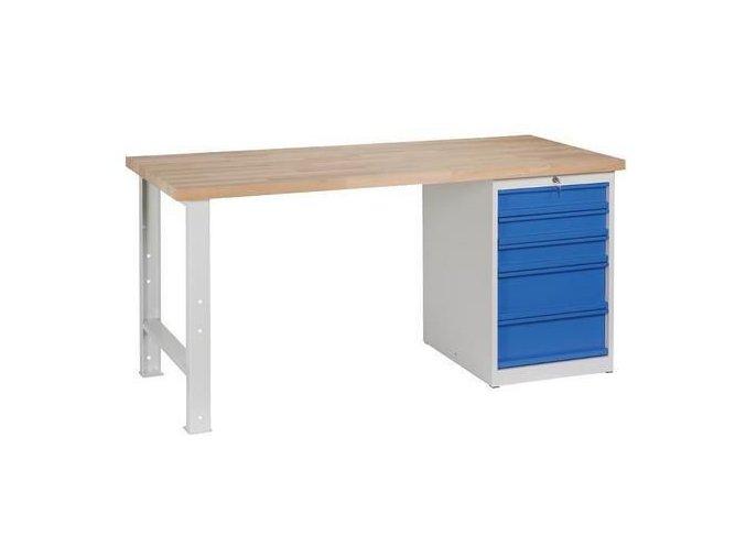 Dílenské stoly Weld, 84 x 170 x 68,5 cm