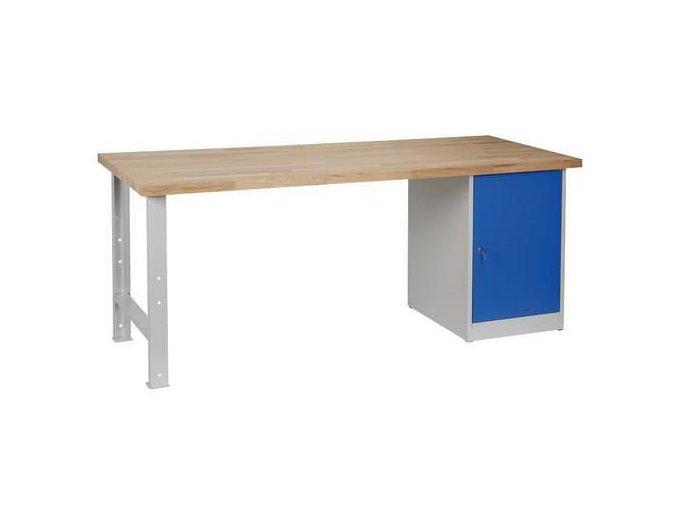 Dílenské stoly Weld, 84 x 200 x 80 cm