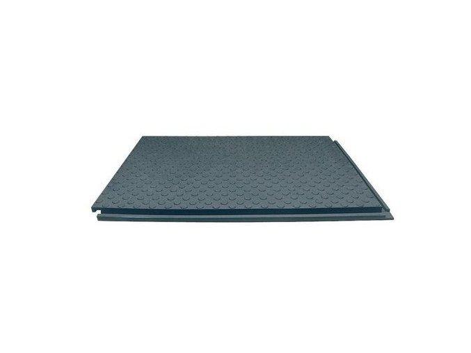 Vnější podlahová deska, se spojovacími zámky a spodním žebrováním, 3 300 kg/dm2