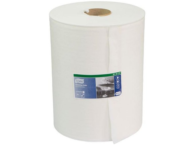 Průmyslové textilní utěrky Tork Premium 510 1vrstvé, 400 útržků
