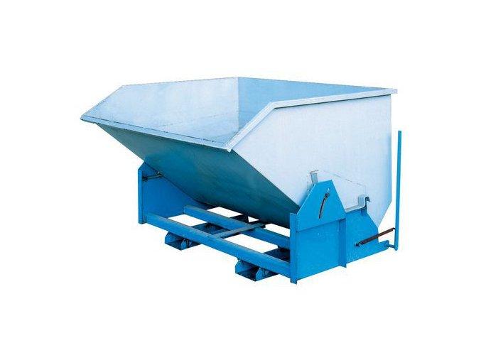 Výklopný kontejner, objem 1 000 l
