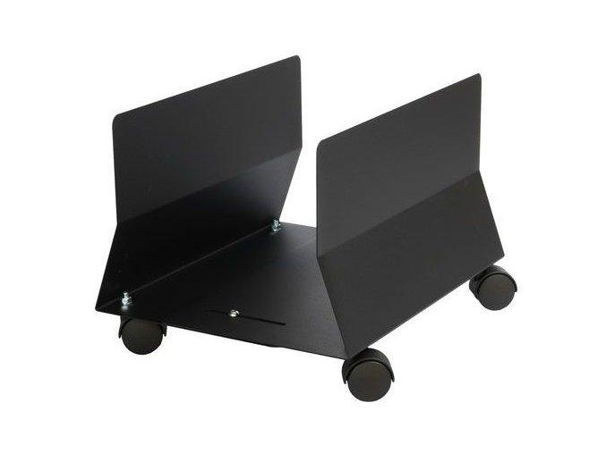 Kovový vozík na PC skříň, Rocada, vnitřní šířka 170 - 250 mm