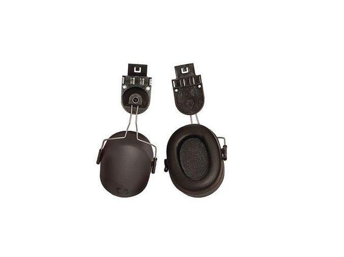 Mušlový chránič sluchu EP167 na přilbu, útlum 23 dB