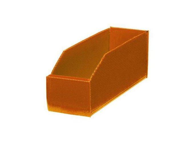Plastové boxy PP 10,5 x 9 x 28 cm