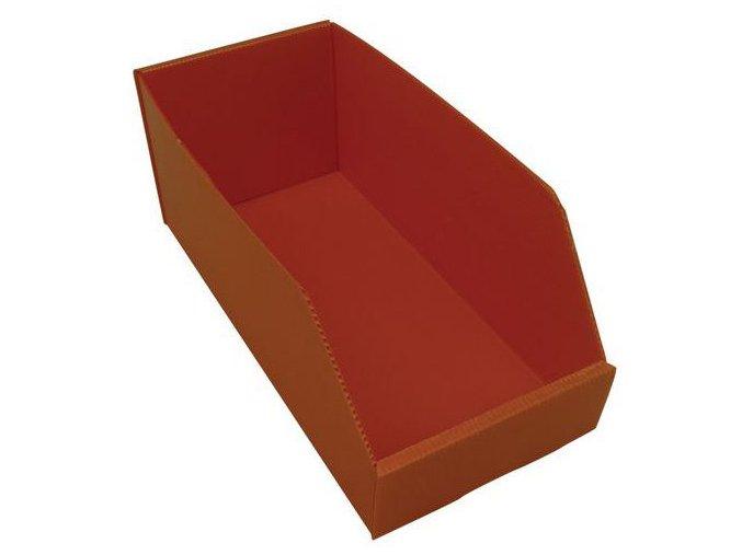 Plastové boxy PP 15,5 x 18 x 38 cm