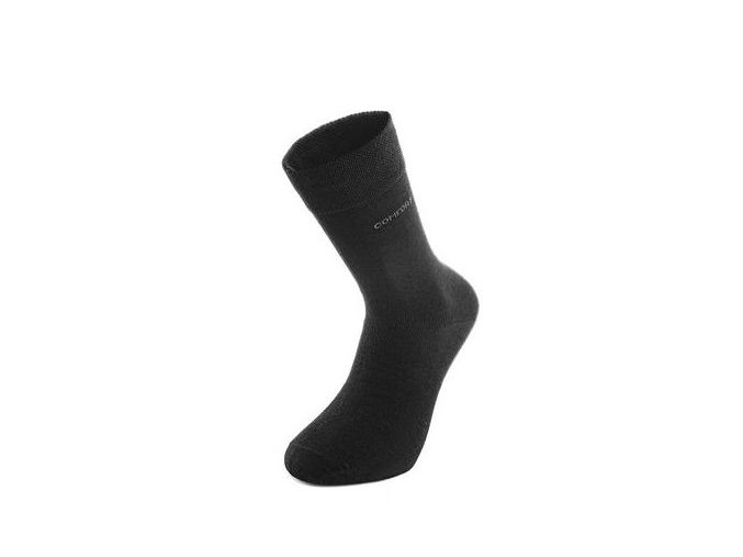 Antibakteriální ponožky, černé
