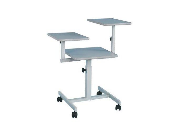 Projekční stolek tříúrovňový