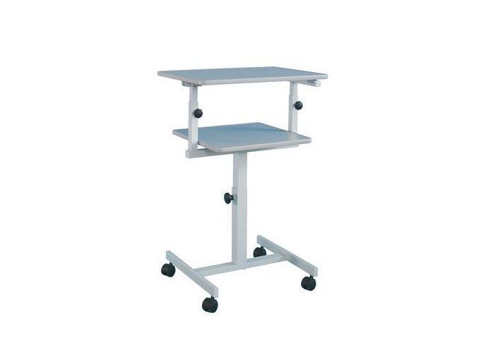 Projekční stolek dvouúrovňový