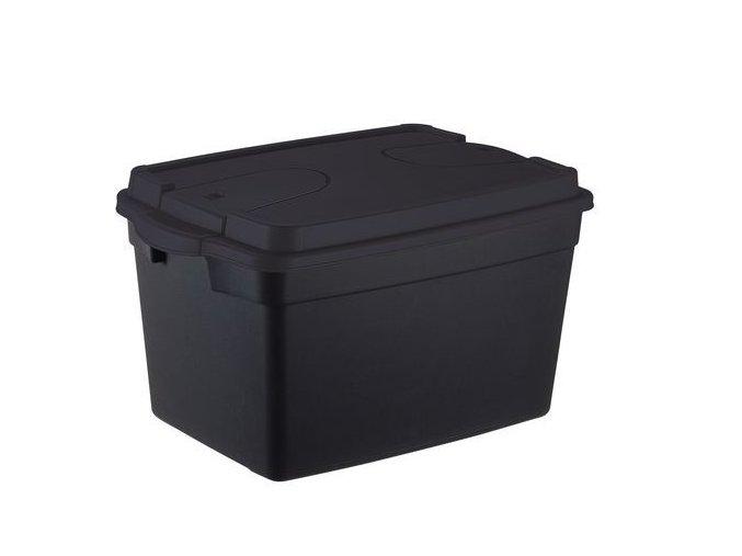 Plastové odolné úložné boxy s víkem