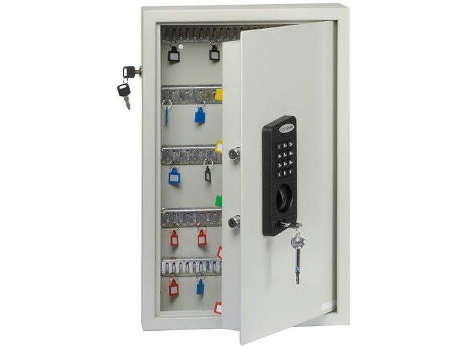 Skříňka na klíče s elektronickým zámkem, 100 háčků
