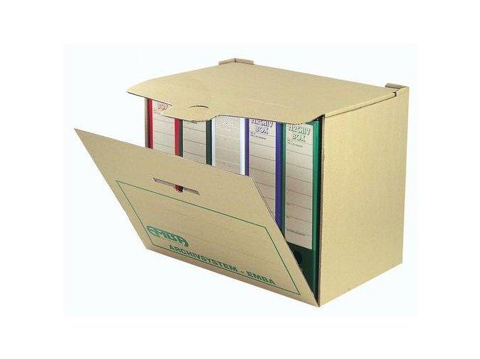 Skupinový box pro archivní boxy, 335 x 400 x 265, 5 ks