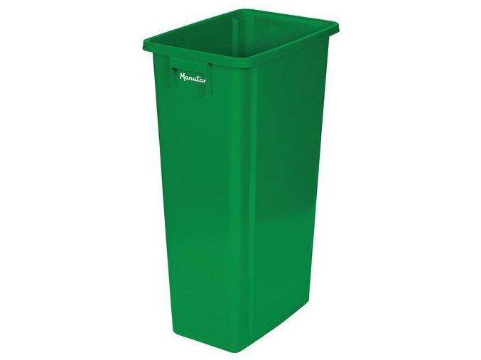 Plastové odpadkové koše Manu Select na tříděný odpad