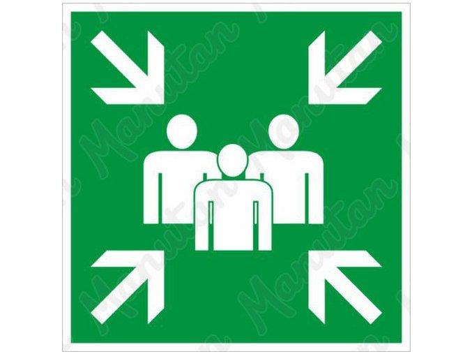 Tabulky bezpečí - Shromaždiště