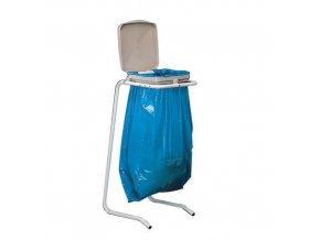 Stojan Swing na odpadkové pytle s víkem
