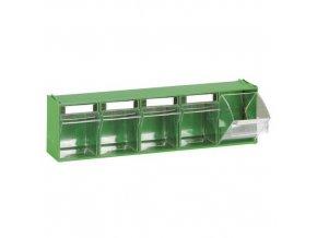 Zásuvkový modul, 5 výklopných zásuvek