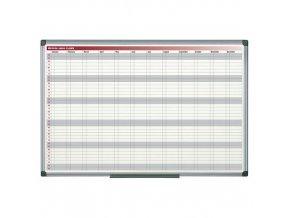 Magnetická roční plánovací tabule Zinnia