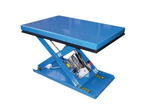 Hydraulický zvedací stůl, do 500 kg, 120 x 80 cm