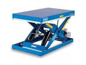 Hydraulický zvedací stůl, do 2 000 kg, deska 135 x 80 cm