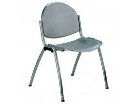 Kovová jídelní židle Star