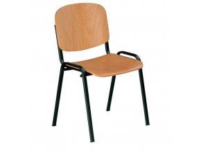 Dřevěná jídelní židle Sylva Black