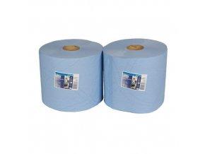 Průmyslové papírové utěrky Tork Advanced 420 Blue 2vrstvé, 750 útržků, 2 ks