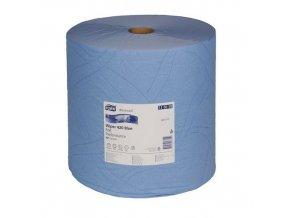 Průmyslové papírové utěrky Tork Advanced 420 Blue 2vrstvé, 1 500 útržků