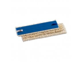 Plochý bavlněný mop Velcro, 40 cm