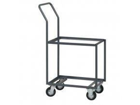 Vozík na přepravky bez ložné plochy, do 200 kg