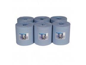 Papírové ručníky Tork Advanced 420 2vrstvé, 157,5 m, modré, 6 ks