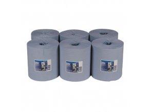 Papírové ručníky Tork Advanced 415 1vrstvé, 320 m, modré, 6 ks
