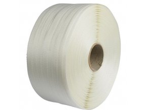 Vázací páska PES příčně tkaná, 19 mm, tloušťka 1 mm