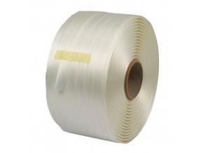 Vázací páska PES netkaná, 19 mm, tloušťka 0,6 mm