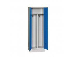 Svařovaná šatní skříň Hanry, 1 oddíl, cylindrický zámek