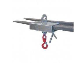 Manipulátor pro vysokozdvižný vozík, do 1 000 kg, pro jednu vidlici