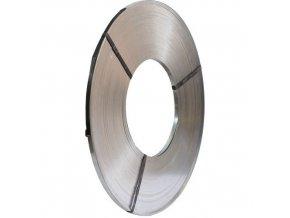 Pozinkovaná ocelová vázací páska, 13 mm, tloušťka 0,5 mm