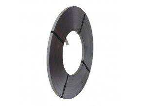 Pozinkovaná ocelová vázací páska, 16 mm, tloušťka 0,5 mm