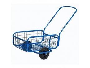 Dvoukolový vozík s plnými koly 205 mm, do 80 kg