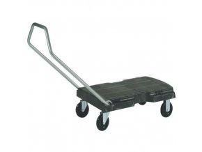 Plošinový vozík se sklopným madlem, do 181 kg