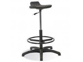 Zvýšená laboratorní stolička Worker